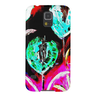 Samsung Galaxy S5, Barely There Darkness Flowers Galaxy S5 Covers