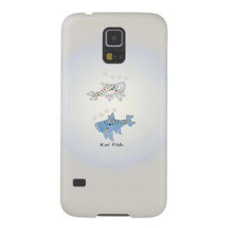 Samsung Galaxy S5, Barely There Opal Koi Fish Galaxy S5 Cover