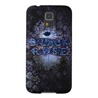 "Samsung Galaxy S5 ""Black Rose"" Case"