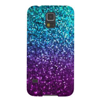 Samsung Galaxy S5 Case Mosaic Sparkley