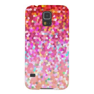 Samsung Galaxy S5 Case Mosaic Sparkley Texture