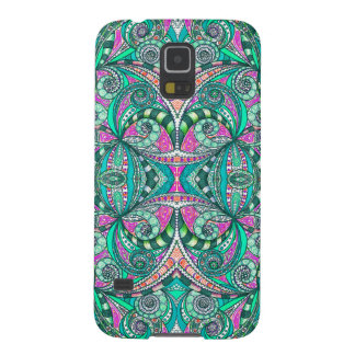 Samsung Galaxy S5 Drawing Floral Galaxy S5 Cover