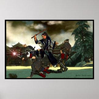 Samurai Conflict Poster