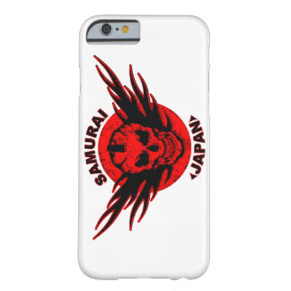 Samurai Skull and Japan Barely There iPhone 6 Case