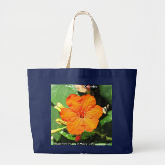 San Andrés, Colombia Large Tote Bag