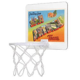 San Antonio #1 Texas TX Vintage Travel Souvenir Mini Basketball Hoop