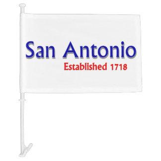 San Antonio Car Flag