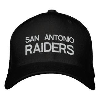 SAN ANTONIO RAIDERS Customizable Cap by eZaZZleMan Embroidered Hat