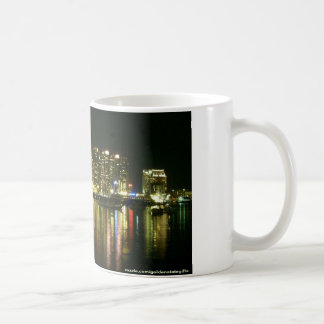 San Diego at night coffee mug