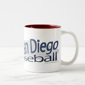 San Diego Baseball Mug