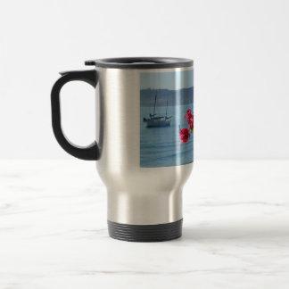 san diego beach travel mug