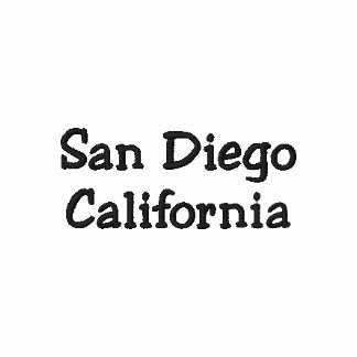 San Diego California Shirt - Customizable !!! Polos
