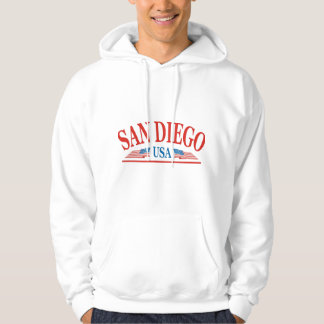 San Diego California USA Hoodie