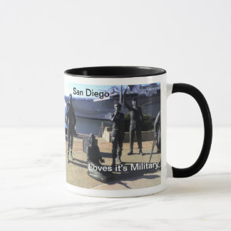 San Diego Celebrates Memorial Day Mug