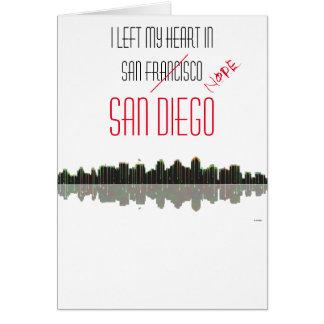 San Diego Skyline Card