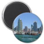 San Diego Skyline Magnet