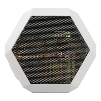 San Diego Skyline Night White Bluetooth Speaker