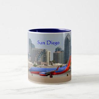 San Diego Two-Tone Coffee Mug