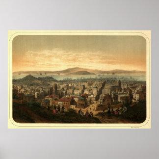 San Francisco, 1860 Poster