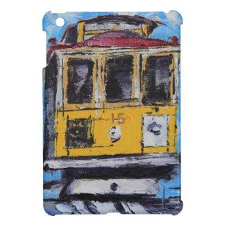 San Francisco Art, Cable Car Painting, California iPad Mini Cover