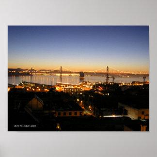 San Francisco Bay at Dawn Print
