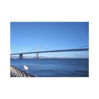 San Francisco Bay Bridge Canvas Print