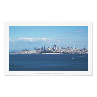 """San Francisco Beyond the Bay,"" California Photo Print"