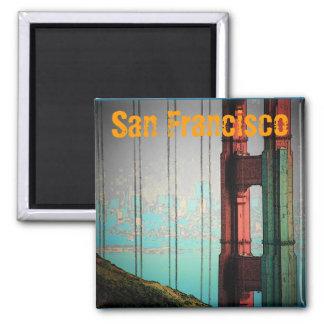 San Francisco (Blue) Magnet