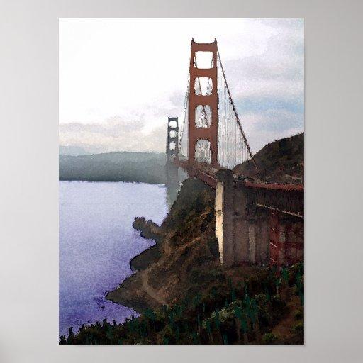San Francisco Bridge Posters