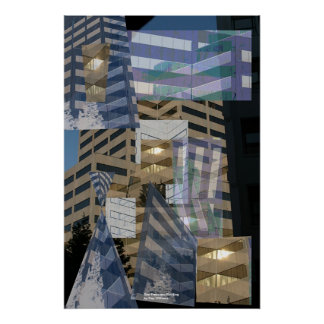 San Francisco Building Poster