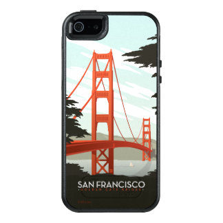 San Francisco, CA - Golden Gate Bridge OtterBox iPhone 5/5s/SE Case