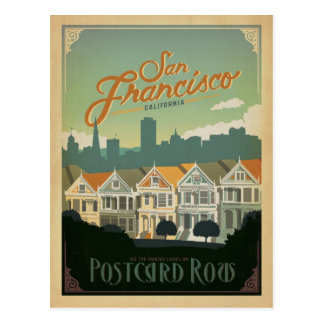 San Francisco, CA - Postcard Row