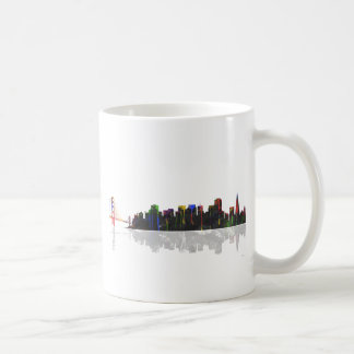 San Francisco California Skyline Coffee Mug