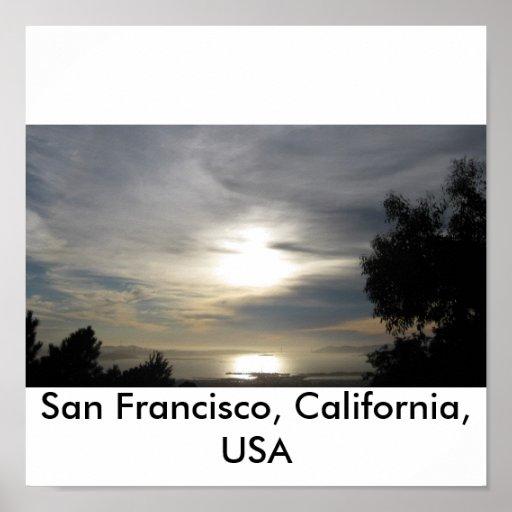 San Francisco, California, USA Poster