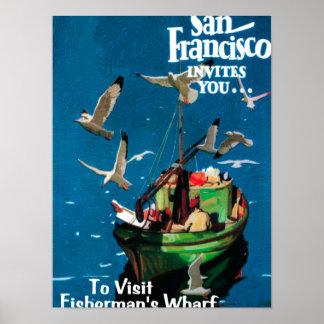 San Francisco, CaliforniaFisherman's Wharf Posters