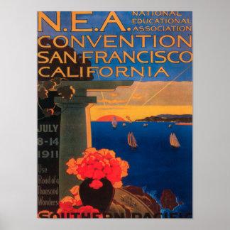 San Francisco, CaliforniaN.E.A. Convention Posters