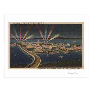 San Francisco, CATreasure Island at Intl Expo Postcard