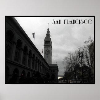 San Francisco Clock Tower Poster