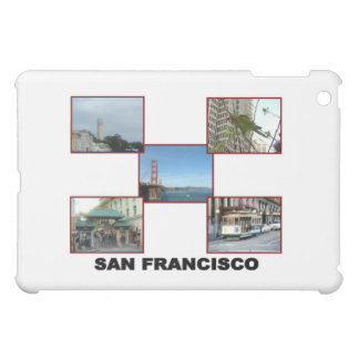 San Francisco collage #3 iPad Mini Covers