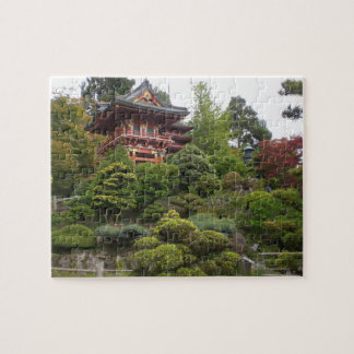 San Francisco Japanese Tea Garden Jigsaw Puzzle