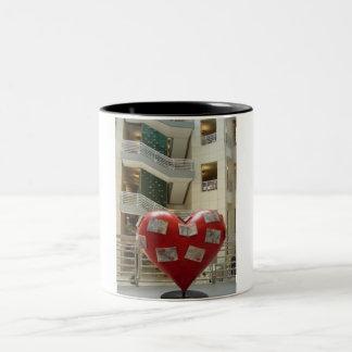 San Francisco Library has heart Two-Tone Coffee Mug