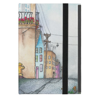 San Francisco Neighborhood Watercolor iPad Mini Case
