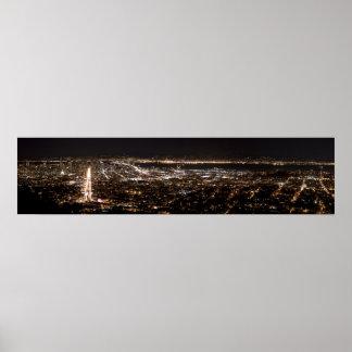San Francisco Nightscape Poster