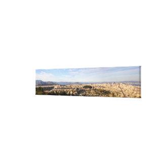 San Francisco panoramic Canvas Print
