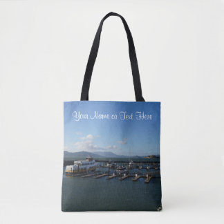 San Francisco Pier 39 #9 All Over Print Tote Bag