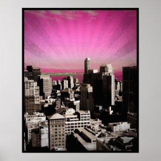 "San Francisco Poster - Large (22.5"" x 28"")"