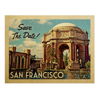 San Francisco Save The Date Palace of Fine Arts Postcard