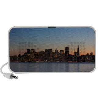San Francisco Skyline at Sunset Portable Speakers