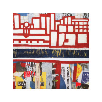 San Francisco SOMA Art Canvas Print