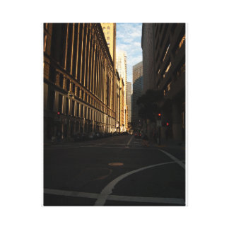San Francisco Street Scene Gallery Wrapped Canvas